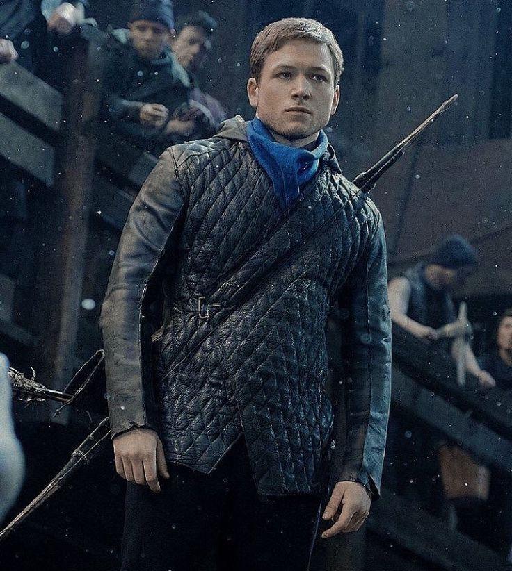 New photo of Taron as Robin Hood.