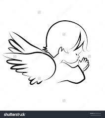Resultado de imagen de angel praying vector