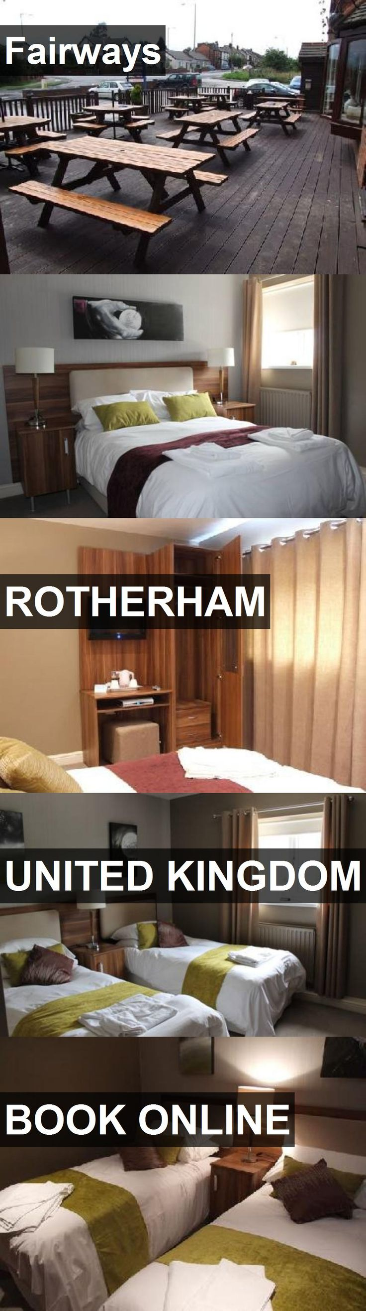 Hotel Fairways in Rotherham, United Kingdom. For more information, photos, reviews and best prices please follow the link. #UnitedKingdom #Rotherham #travel #vacation #hotel