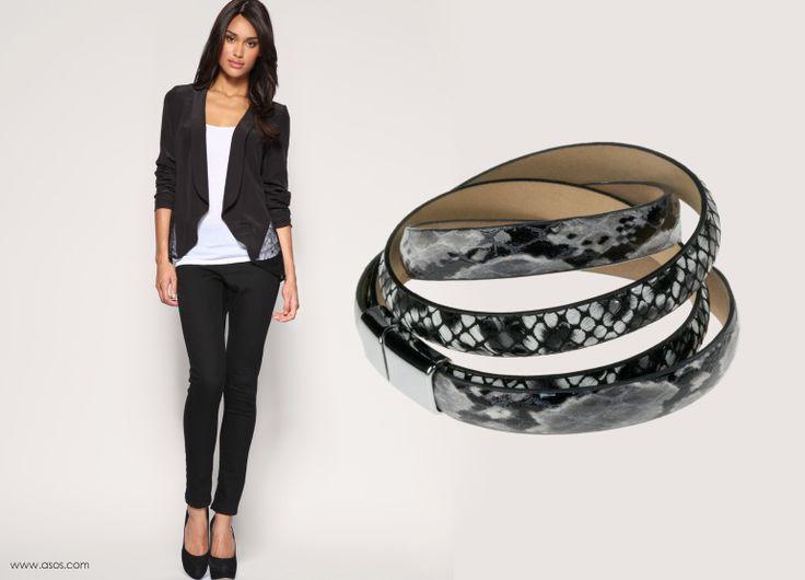 Najmodniejsze od kilku sezonów motywy zwierzęce. My polecamy połączenie panterki z wężową skórą. http://beltguys.pl/pl/p/W12-118119_150/448  #stylizacja #elegancja #luksus #bransoletka #bracelets #leather #women