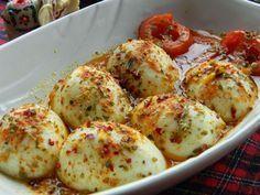 Tereyağlı Yumurta Kapama.   Vişnap