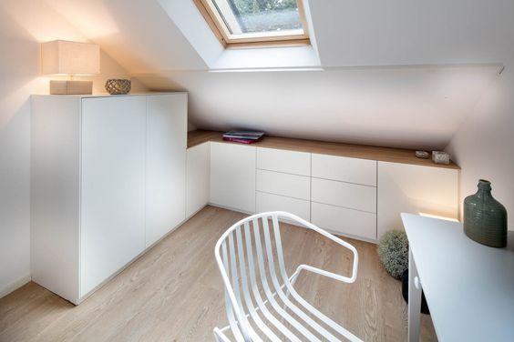 placard sous pente sur mesure paris nantes vannes lorient meuble sous pente maison. Black Bedroom Furniture Sets. Home Design Ideas