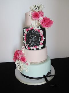 Doces Opções: vintage wedding cake