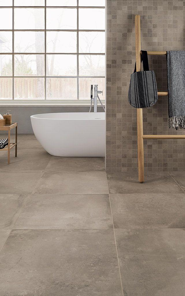 Oltre 25 fantastiche idee su Pavimenti del bagno su Pinterest  Bagni e Piccole piastrelle da bagno