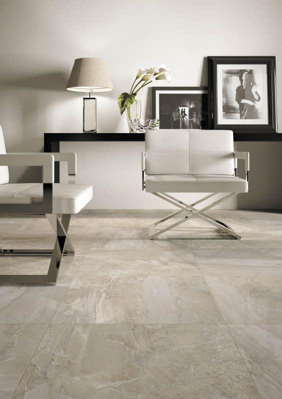 Marmorin ylväs ilme sopii sekä isoihin että pieniin tiloihin. Royale malliston lattialaatta R31L Grigio Lux 60 x 60 cm. Värisilmä, http://kauppa.varisilma.fi/laatat/seinalaatat/royale/ #marmori