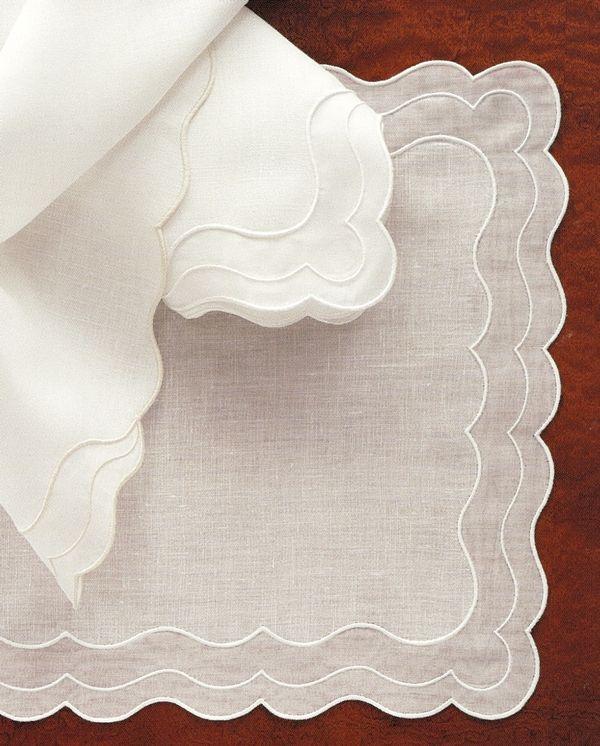 Venus-Madeira Tables Linens.