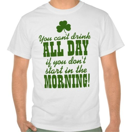 Funny St Patty S Day Drinking Tee Shirt