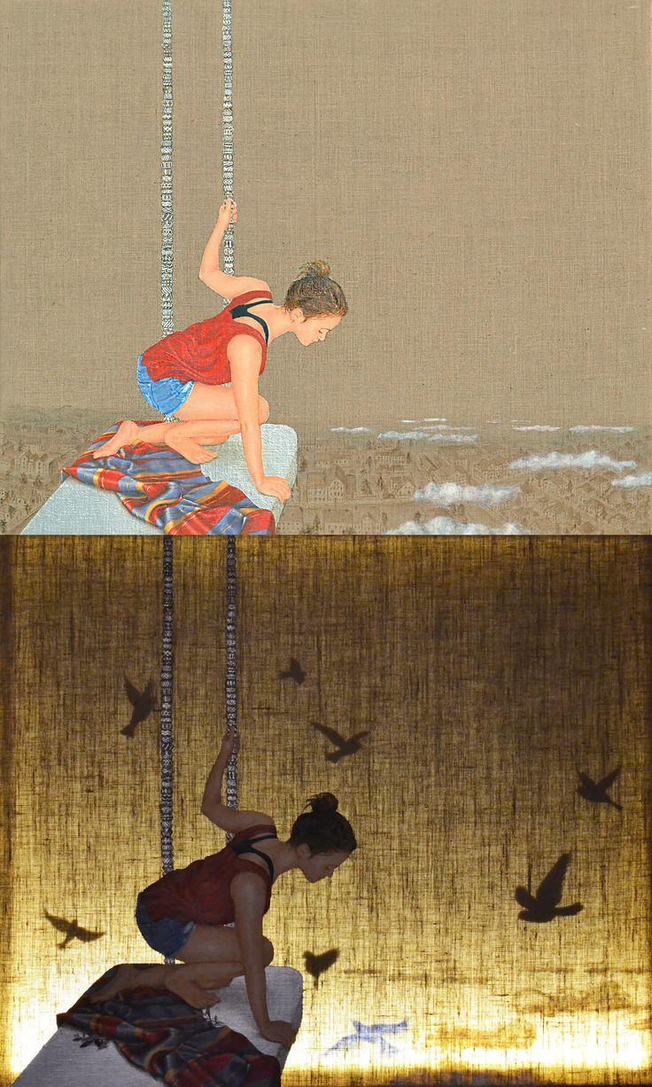 Swing above the city * Light series ~ day n night * Barbara Gerodimou * www.gerodimou.com