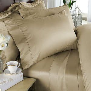 Beige Plain - Solid Olympic Queen Size Size SIX piece [6] Bed Sheet Set (Deep Pocket) with FOUR [4] Pillow cases. 600 Thread Count 100% Long Staple Egyptian Giza Cotton with Swiss Sateen Finishing by EveryDay Linens, http://www.amazon.com/dp/B0059GMJAE/ref=cm_sw_r_pi_dp_qJ-Tqb12CSYJ5