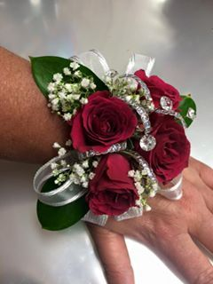 Roses Red And Wrist Corsage On Pinterest