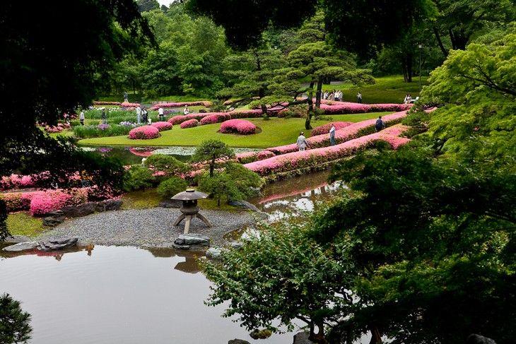 24 dos MPalácio Imperial de Tóquio - Jardins Ninomaruais Belos Jardins Japoneses
