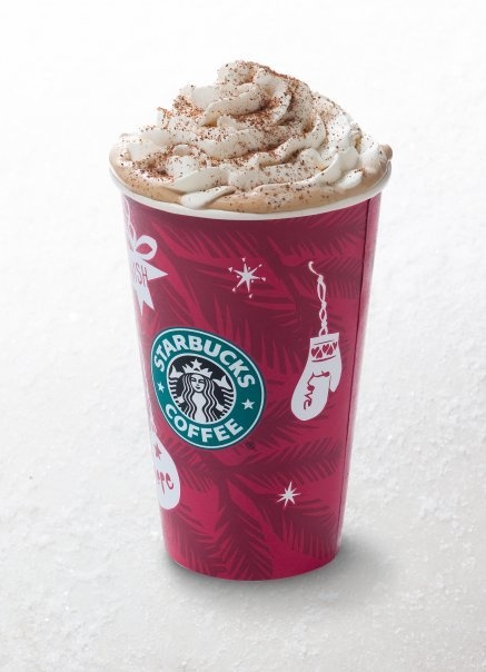 Starbucks christmas cups make me so happy