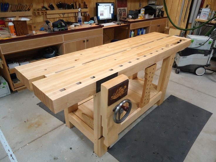 Ruobo workbench   Build the Split-Top Roubo Workbench with The Wood Whisperer Guild ...