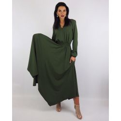 Платье с асимметричным низом, цвет хаки https://privately.ru/platya/plate-s-asimmetrichnym-nizom-cvet-haki/  Цена: Р2090.00