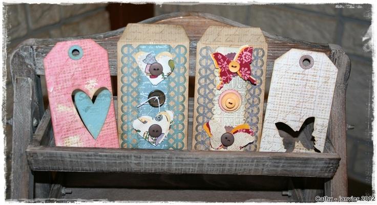 mini paper bags et leurs tags