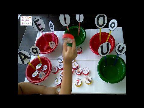 (3225) Conciencia fonológica: Fonema inicial. Para niños de preescolar - YouTube