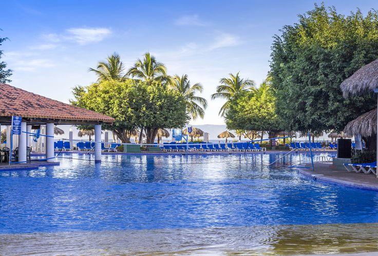 The pool at the Melia Puerto Vallarta.