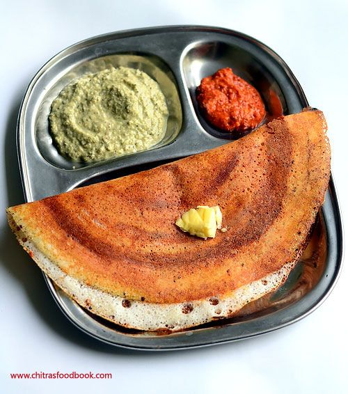 Mysore masala dosa recipe with spicy red chutney, Potato masala stuffing, coconut chutney recipe - Karnataka special dosa recipe