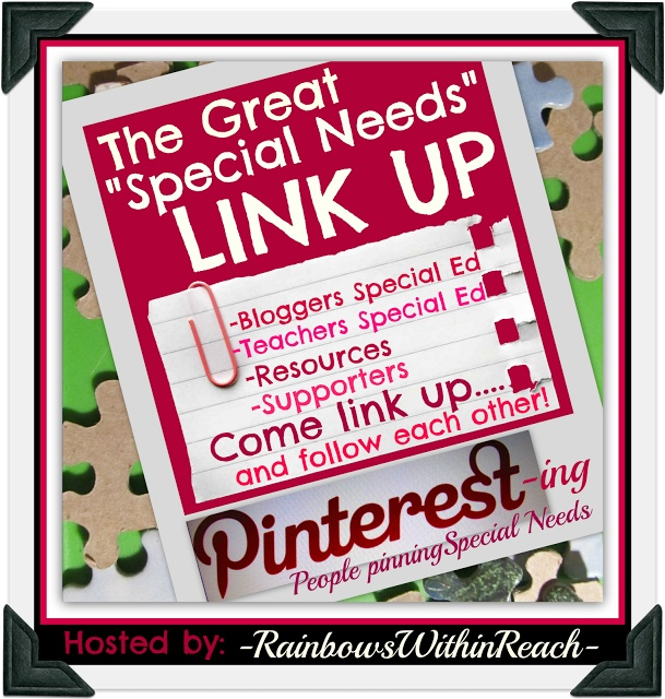 Pinterest Directory for Those who Pin for Special Needs (LinkUP via RainbowsWithinReach)