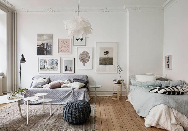 Comment aménager son studio ? - Elle Décoration Petit studio