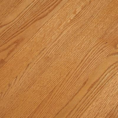 Brighten Your Decor With This Bruce Natural Reflections Oak Butterscotch  Solid Hardwood Flooring.