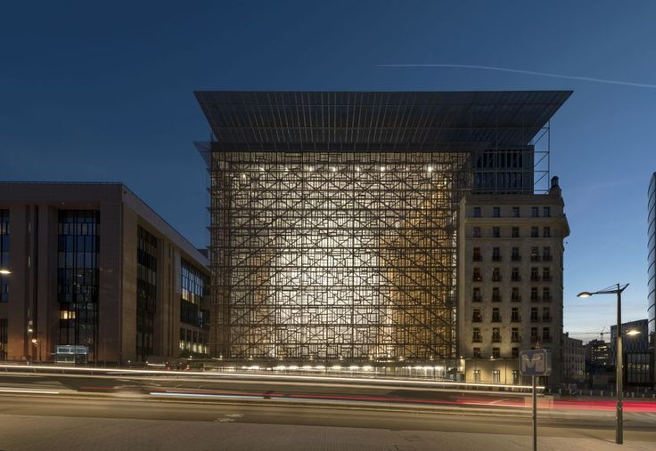 494 - EUROPA - New headquarters of the Council of the European Union - SAMYN AND PARTNERS