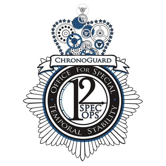 Chronoguard (Sticker) by OneShoeOff | Jasper Fforde | Thursday Next Series