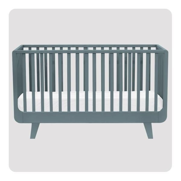 The spirit of life and optimism influenced the design of this beautiful cot that offers rounded shapes to become elegant yet fun piece of furniture in your little one's nursery.The Joli Mome cot with it's retro touch offers all what your baby/toddler needs for comfortable sleep.Delivery time: please allow 4-8 weeks for delivery(more precise delivery time can be confirmed on request)Sizes:120 x 60 cm cot - dimensions L 129 x H 86.5 x W 65 cm140 x 70 cm cot - dimensions L 149 x H 8...