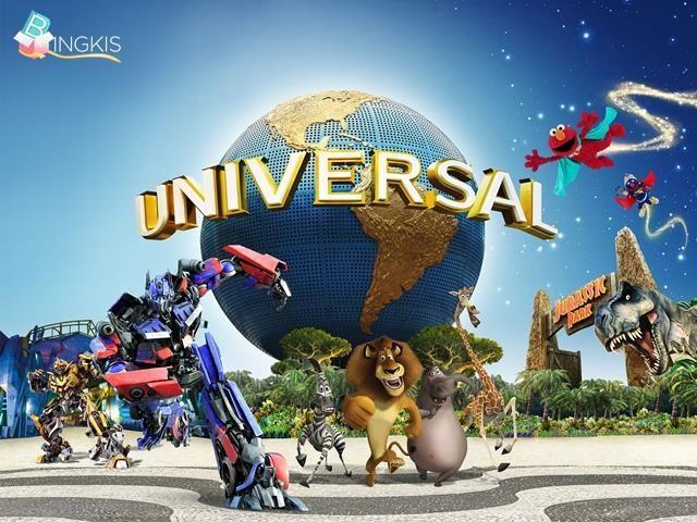 """Berlibur ke Universal studio singapore untuk keluarga mulai dari Rp. 495.000 + Cashback hingga 5% hanya di http://ow.ly/OcOq1  Liburan ke Singapore semakin seru dengan promocode """"HOLIDAY8"""" periode """"5 Juni s/d 2 Agustus 2015"""" S&K berlaku http://on.fb.me/1GnSUx9"""