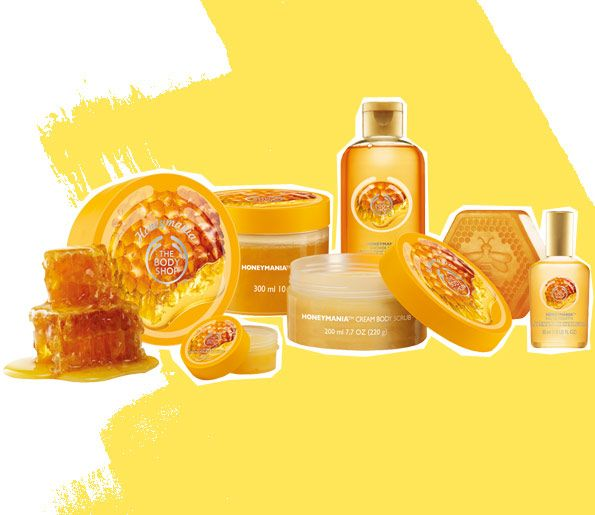 Honeymania collection, The Body Shop