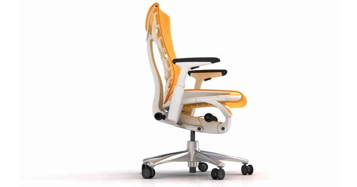 The Embody desk chair....absolute comfort from an ergonomic chair.   Ideally paired with the designers' Envelope desk. / TechNews24h.com