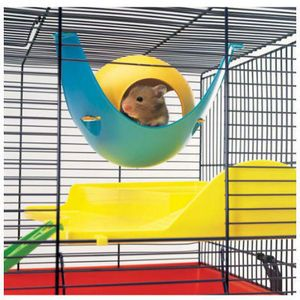 Savic Sputnik Hamster House 1 x Hamster House Savic Sputnik Hamster House is a hamster house that can either be put on the floor of the cage or be hung up on the bars.
