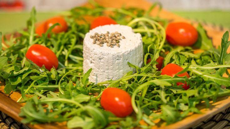 Tofu di Canapa (Hemp-Fu) - Formaggio Vegetale con Latte di Semi di Canapa -VIDEO