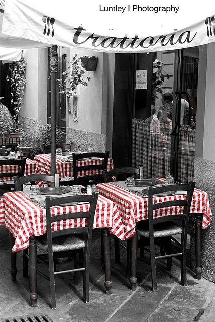 La Trattoria... by Lumley_, via Flickr