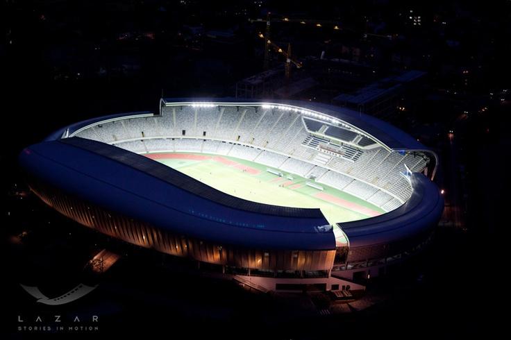 Stadionul Cluj Arena – noaptea
