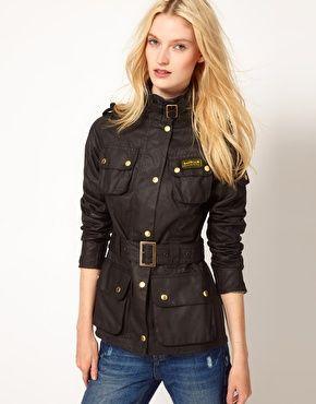 womens barbour wax jacket