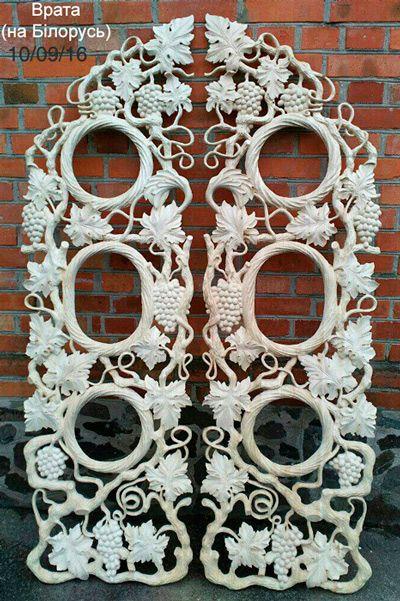 Царские врата резьба ольха - для Иконостаса на Белорусь