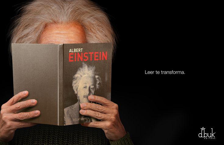 Czytanie cię zmienia #Einstein