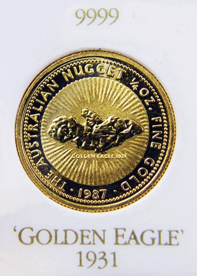 golden eagle gold coin