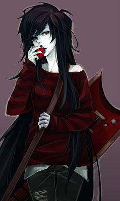 Marceline The Vampire Queen. Anime :3