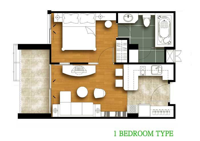 1 Bedroom House Plans - Bing Images