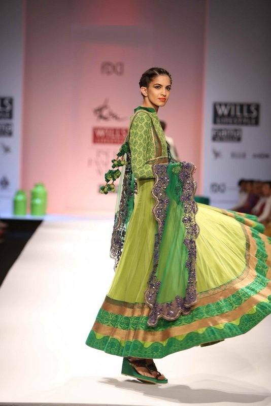 """""""Wills Lifestyle India Fashion Week AW '13"""" Day 3 by Ekru by Ekta & Ruchira #Fashion #WillsLifestyle"""
