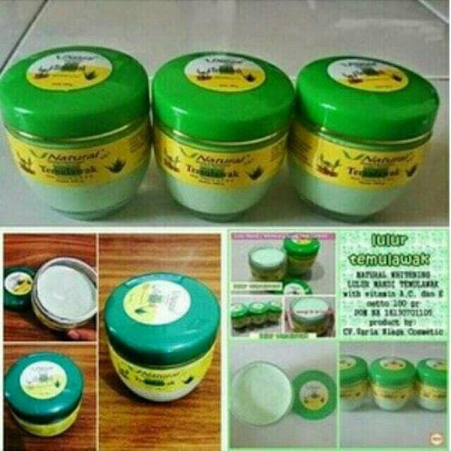 Saya menjual Whitening Lulur Mandi Temulawak/ Lulur V Natural Temulawak seharga Rp50.000. Ayo beli di Shopee! https://shopee.co.id/cosmetic_hq/45235155