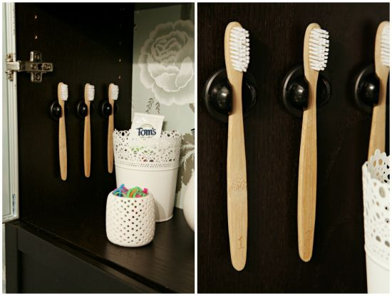 Iheart organizing quick tip get a grip on your toothbrush grippers