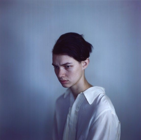 Harmony white shirt, 2011, camera obscura Ilfochrome photograph