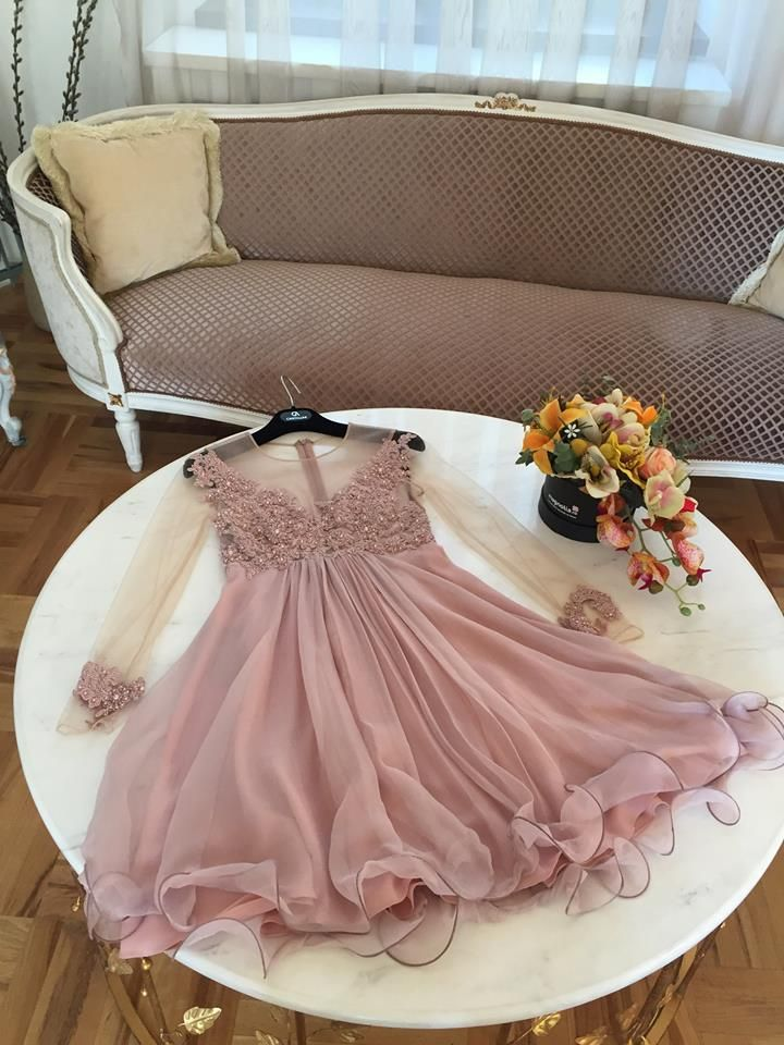 CRISTALLINI #Prom #PinkDress #CocktailDress #SilkDress