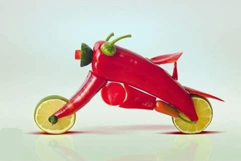 Red chilli motor bike - Mohammed Sadeed