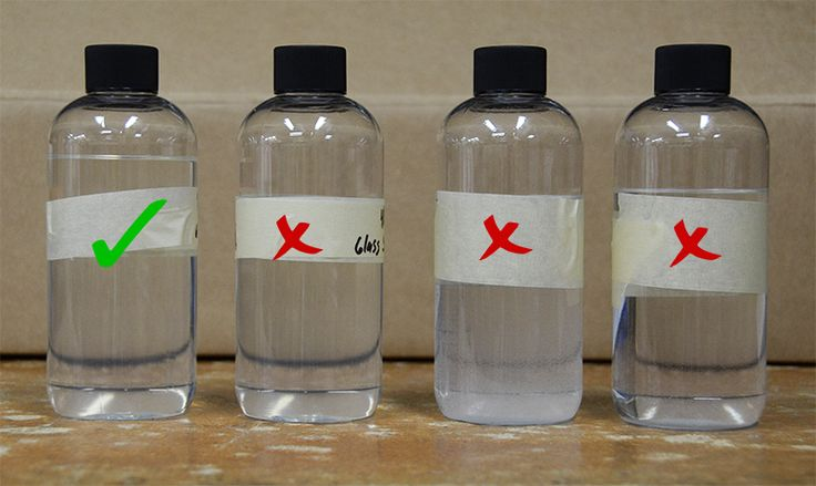Car care product testing