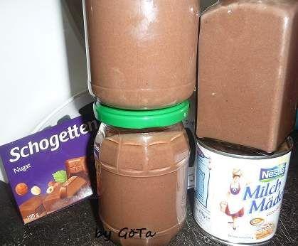 Schokoaufstrich mit Milchmädchen - wie Nut*lla von Jagga auf www.rezeptwelt.de, der Thermomix ® Community