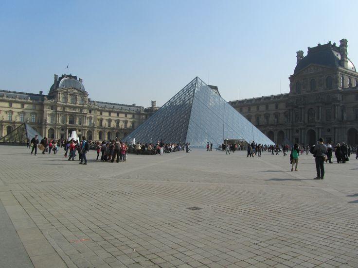 Outside of Musée du Louvre